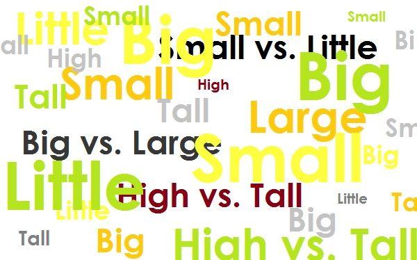 """""""Маленький, большой, высокий"""": тонкости употребления"""