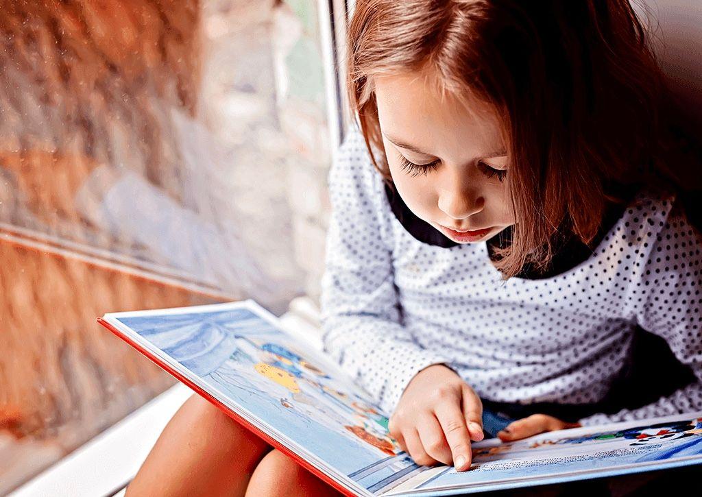 Чтение книг поможет изучению английского в раннем возрасте