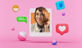 На фото молодая девушка изображена в виде полученного сообщение